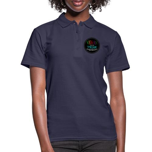 VEGAN WEIL ICH TIERE RESPEKTIERE - Frauen Polo Shirt