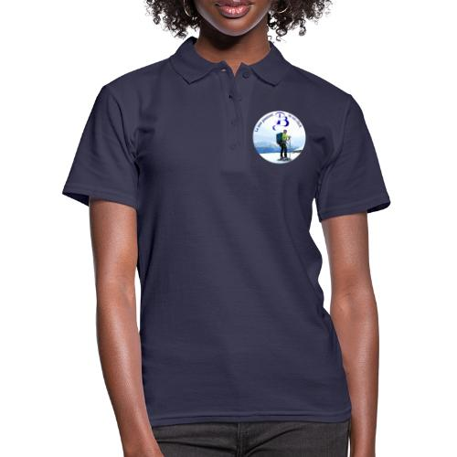 Logo cartone ciaspole - Polo donna