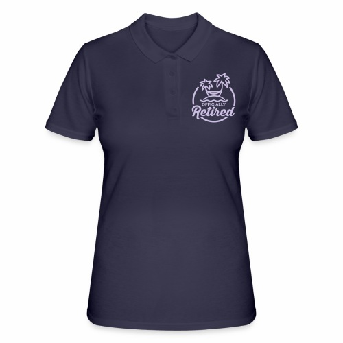 Officially Retired - Women's Polo Shirt
