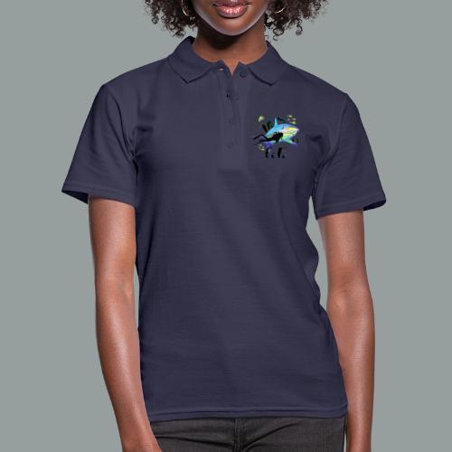 THIS IS LIFE - Frauen Polo Shirt