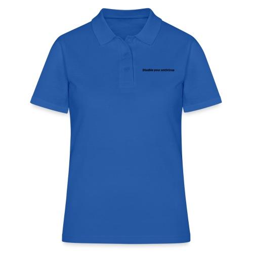 Disable your antivirus - Poloshirt dame