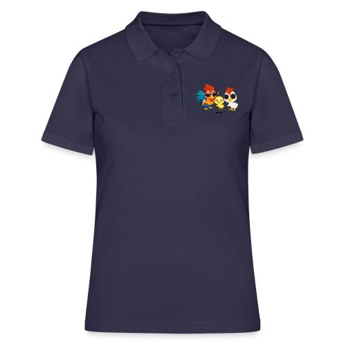 Huhn - von Momio Designer Emeraldo. - Frauen Polo Shirt