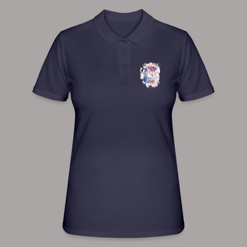 shirt bunt tshirt druck - Frauen Polo Shirt