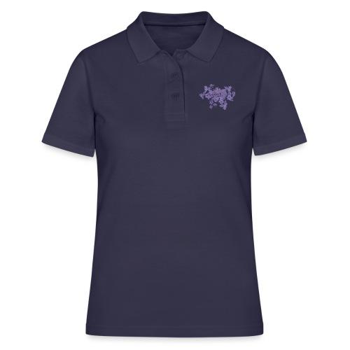 Purple bunch of flowers - Women - Women's Polo Shirt