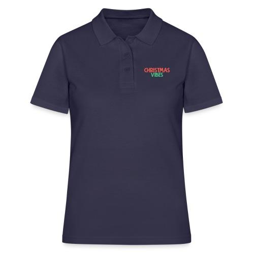 Christmas Vibes T Shirt Merch - Women's Polo Shirt
