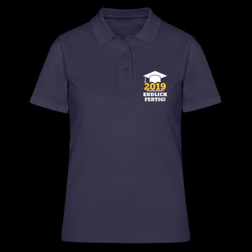 Doktorhut - Geschenk Schüler, Student, Doktorand - Frauen Polo Shirt