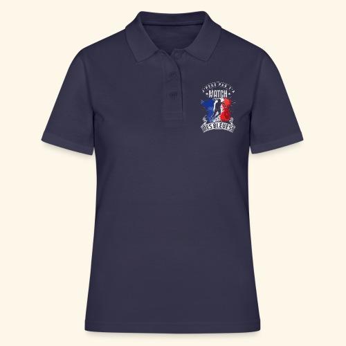 Les Bleues FOOTBALLEUSE - Equipe de France féminin - Polo Femme