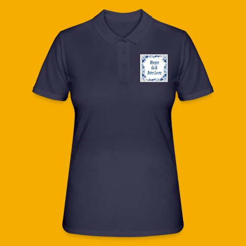 delft blauw - Women's Polo Shirt