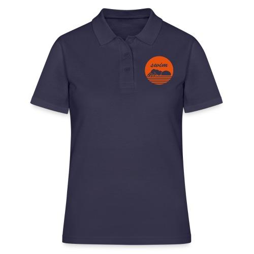 swim! Schwimmer Kraulen - Frauen Polo Shirt