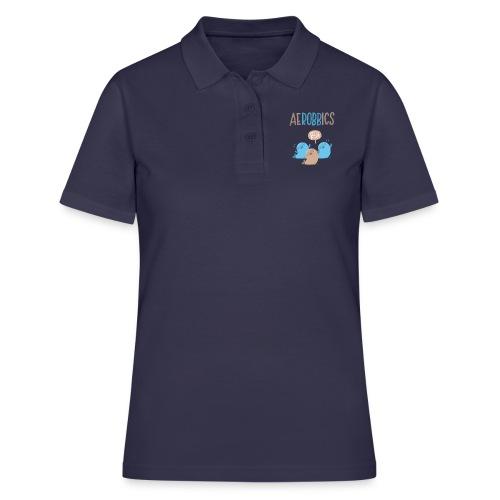 Aerobbics funny - Frauen Polo Shirt