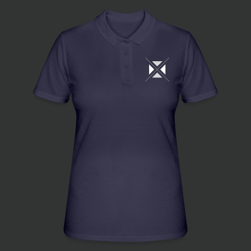 hipster triangles - Women's Polo Shirt