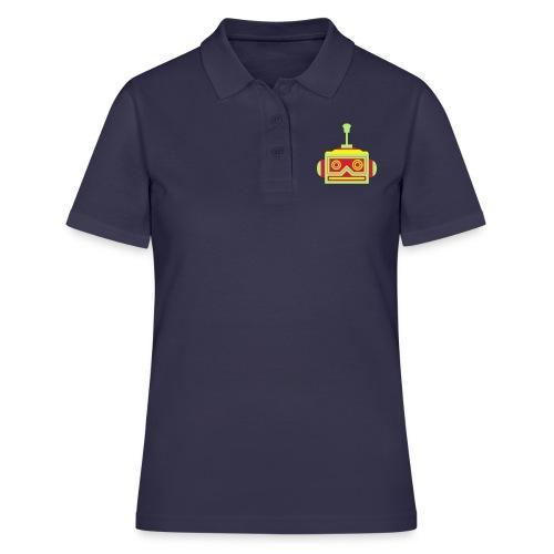 Robot head - Women's Polo Shirt