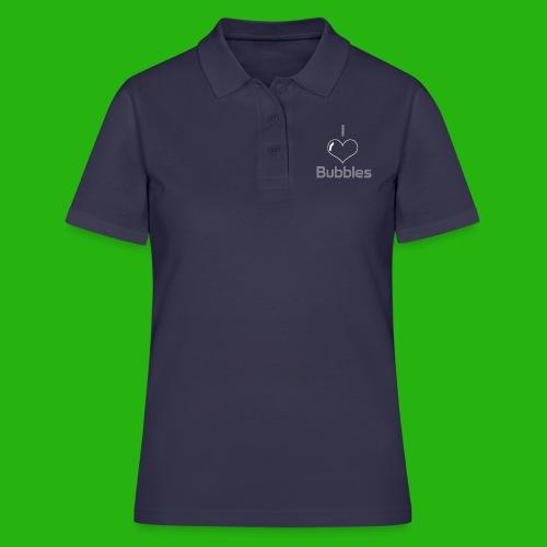 I Love Bubbles Shirt - Women's Polo Shirt