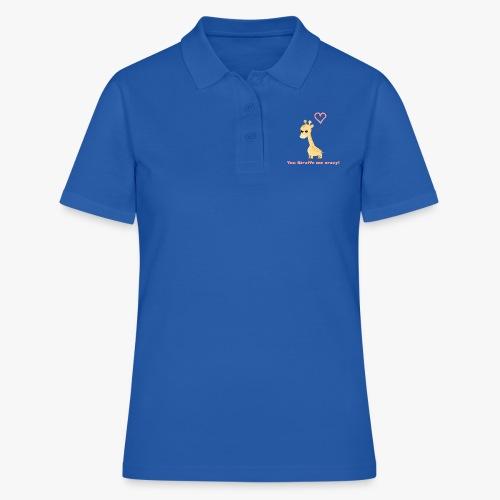 Giraffe Me Crazy - Women's Polo Shirt