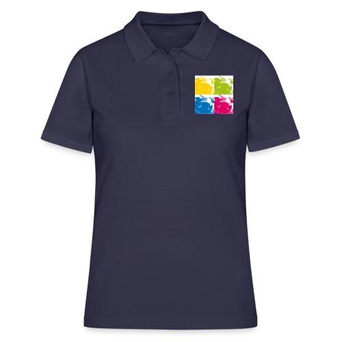 4 Kühe - Frauen Polo Shirt