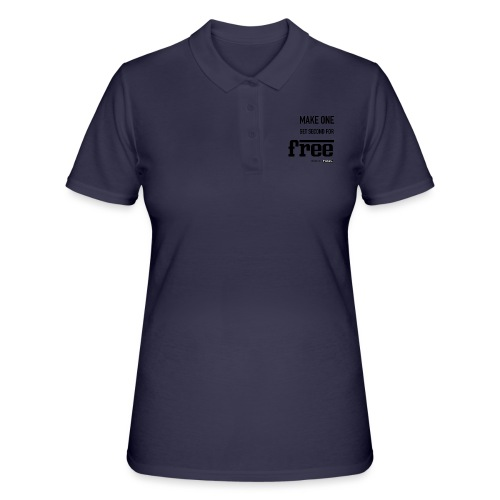 TWINS. make one get second for free - Frauen Polo Shirt