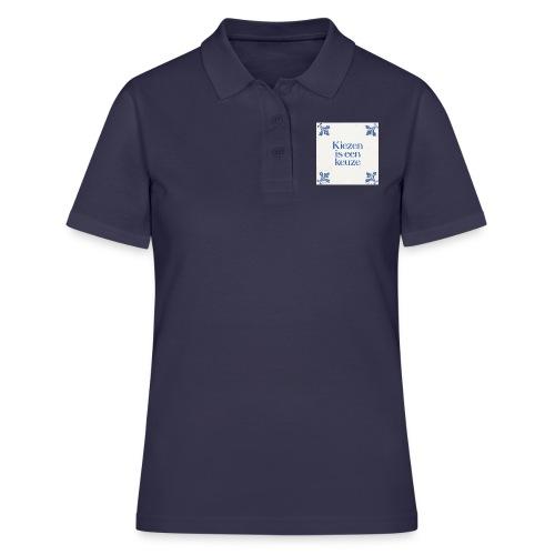 Herenshirt: kiezen is een keuze - Women's Polo Shirt