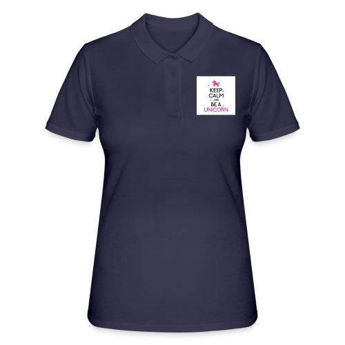 16050478-width-250-height-250-keep-calm-and-be-a-u - Women's Polo Shirt