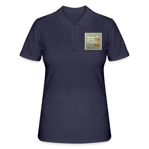 King Golden Retriever Puppy - Women's Polo Shirt