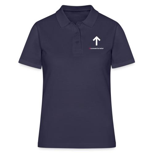 Conversionator mit Pfeil ohne Kreis - Frauen Polo Shirt