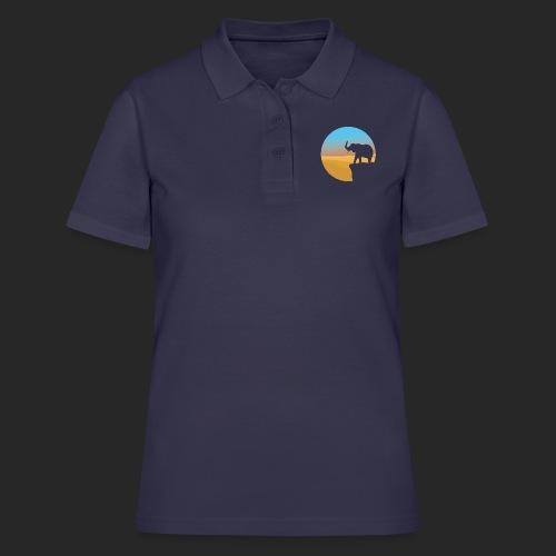 Sunset Elephant - Women's Polo Shirt