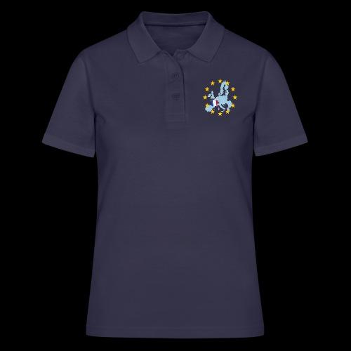 EU France (Frankreich Europa) - Frauen Polo Shirt