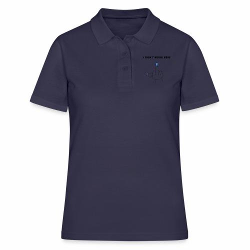 Nei, jeg jobber ikke her - Women's Polo Shirt