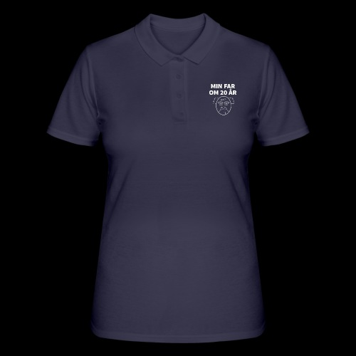 Min Far Om 20 År (Moto) - Women's Polo Shirt