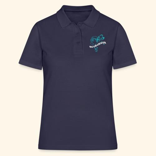 ScubaDiverShirt001 - Vrouwen poloshirt