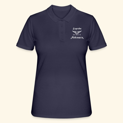 Legends are born in February - Frauen Polo Shirt