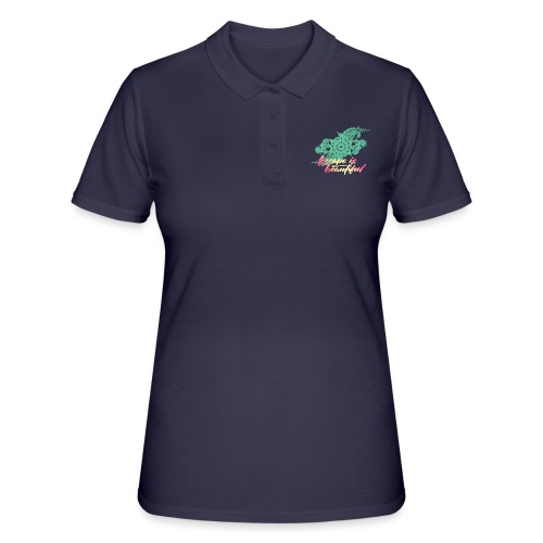 escape is beautiful - Women's Polo Shirt