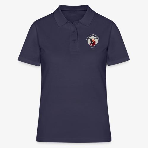 Stammeslogo mit Schriftzug - Frauen Polo Shirt