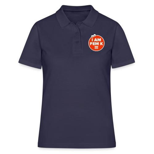 I AM FEM K - Women's Polo Shirt