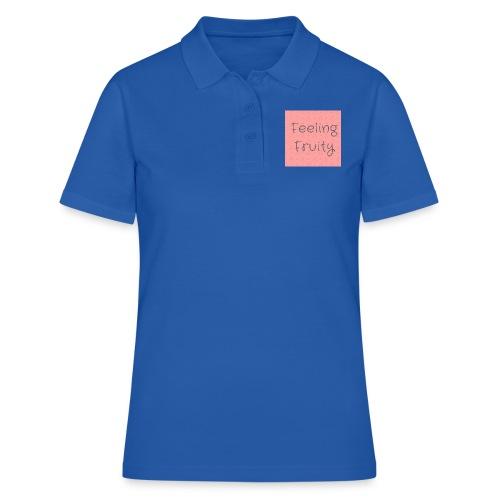 feeling fruity slogan top - Women's Polo Shirt