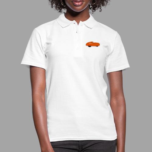 it's a velomobile white text - Women's Polo Shirt