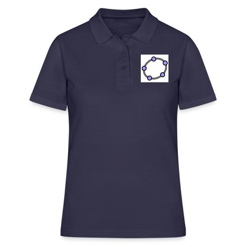 GeoGebra Ellipse - Women's Polo Shirt