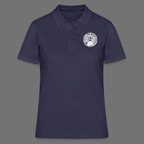 Maschinentelegraph (biały oldstyle) - Koszulka polo damska