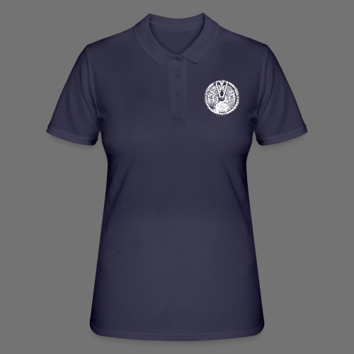Maschinentelegraph (white oldstyle) - Frauen Polo Shirt