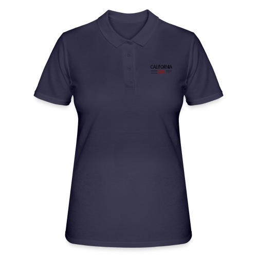 california girl - Frauen Polo Shirt