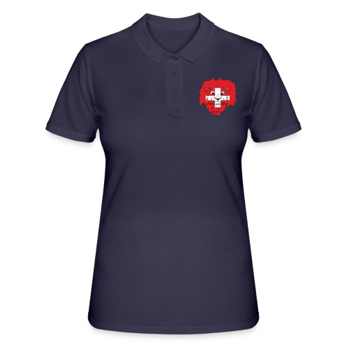 Lion supporter Suisse - Women's Polo Shirt