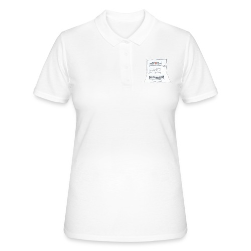 Laptop 20CENT Retail - Women's Polo Shirt