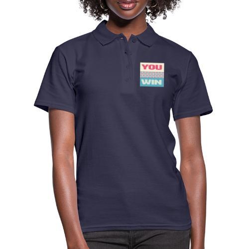 you win 8 - Women's Polo Shirt