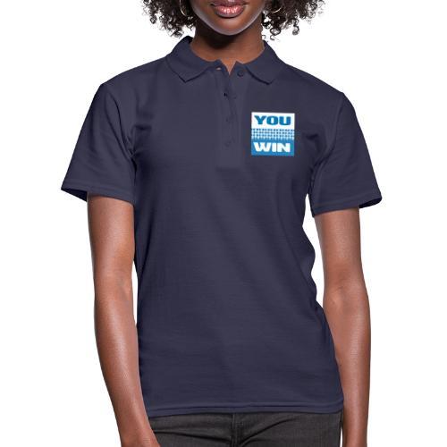 you win 21 - Women's Polo Shirt