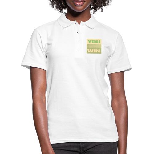 you win 12 - Women's Polo Shirt