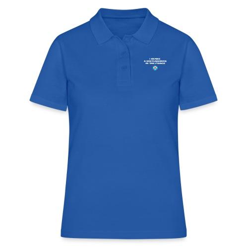 I Sense a Disturbance in the Force T-Shirt - Polo donna