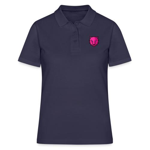 LoneWolf rosa - Camiseta polo mujer