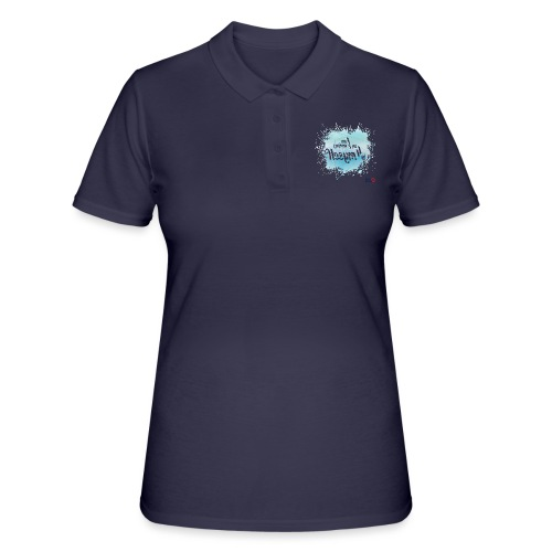 I am working on myself - Women's Polo Shirt