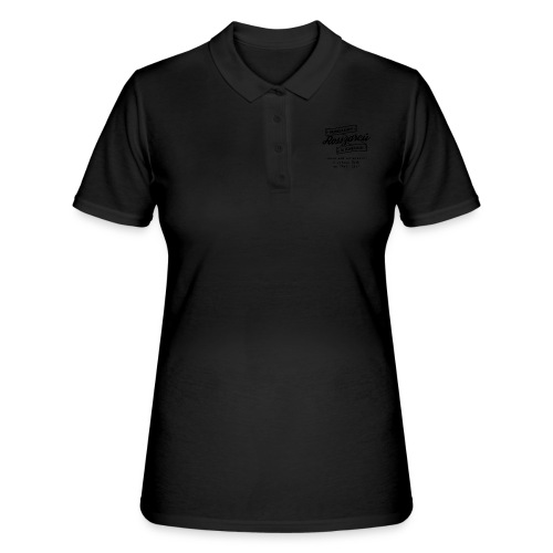 Rosszarcú - Hungarian is Awesome (black fonts) - Women's Polo Shirt