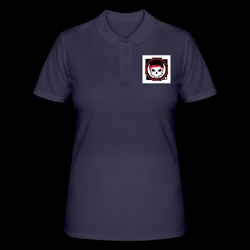 gamer skull nerd gothic - Frauen Polo Shirt