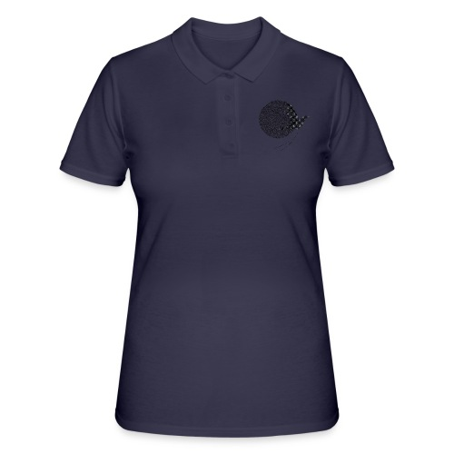 Black Bird blackwhitecontest - Women's Polo Shirt